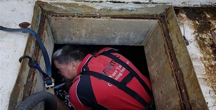 التخلص من رائحة خزان الماء-التنظيف والتعقيم