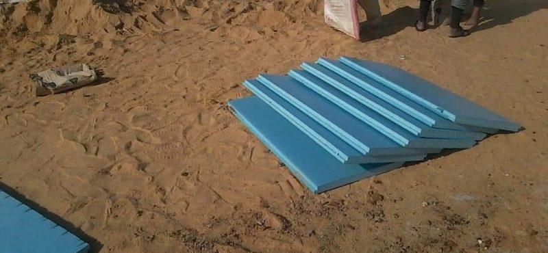 طريقة عزل الأسطح بالفايبر جلاس