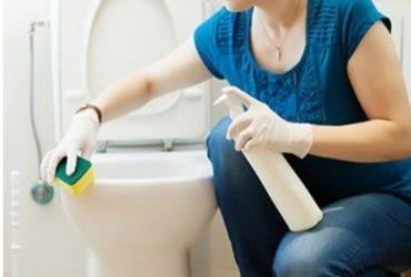 طريقة تنظيف الحمام بملح الليمون