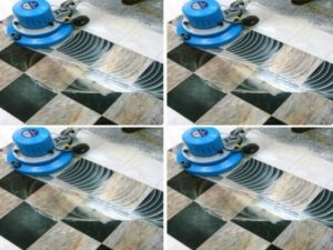 طريقة تنظيف السيراميك الخشن والمحفور